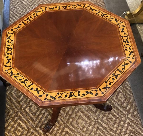 Anna's Mostly Mahogany Consignment - Octagonal Kindel End Table