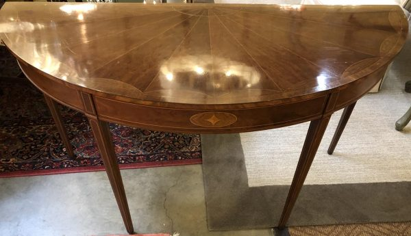 Anna's Mostly Mahogany Consignment - Demilune