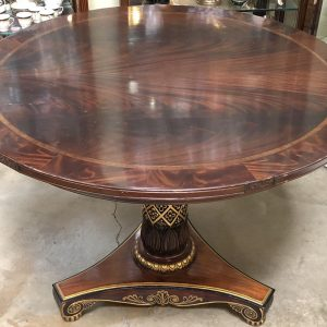 Anna's Mostly Mahogany Consignment - Round Mahogany Table