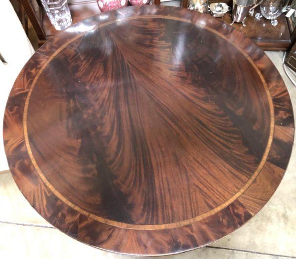 Anna's Mostly Mahogany Consignment - Round Mahogany Table