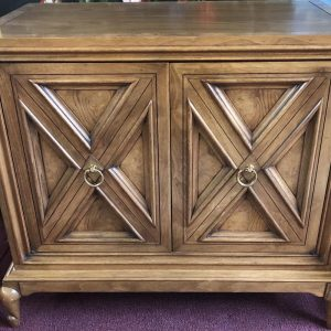 Anna's Mostly Mahogany Consignment - Pr Walnut Nightstands