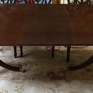 Anna's Mostly Mahogany Consignment - Mahogany Dining  Table