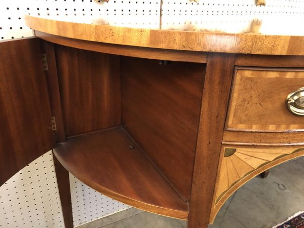 Anna's Mostly Mahogany Consignment - Baker Demilune Sideboard
