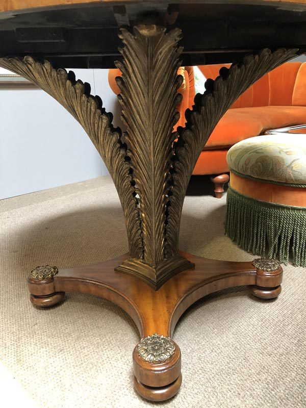 Anna's Mostly Mahogany Consignment - Round Foyer Table
