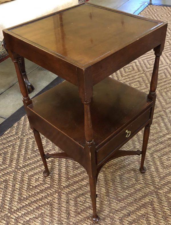 Anna's Mostly Mahogany Consignment - Mahogany Side Table