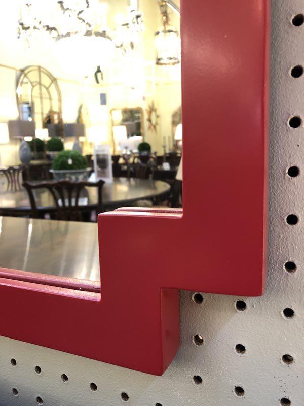Anna's Mostly Mahogany Consignment - Red Pagoda Mirror