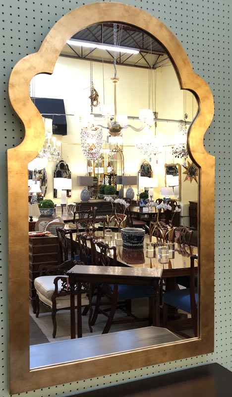 Gold Leaf Arch Mirror Antique And Art Consignment