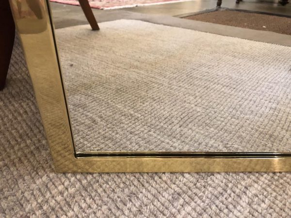 Anna's Mostly Mahogany Consignment - Gold Metal Mirror
