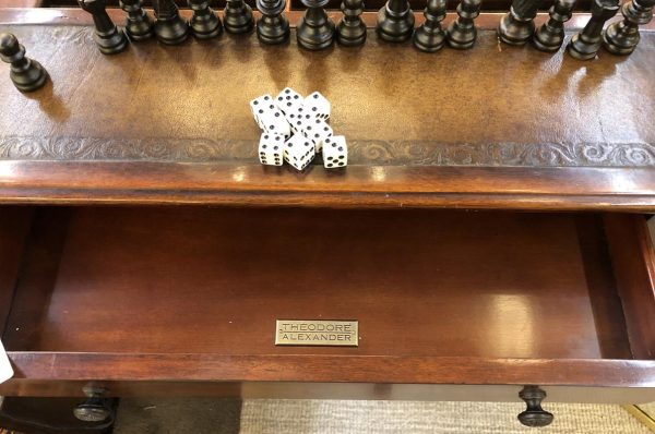 Anna's Mostly Mahogany Consignment - Walnut Game Table