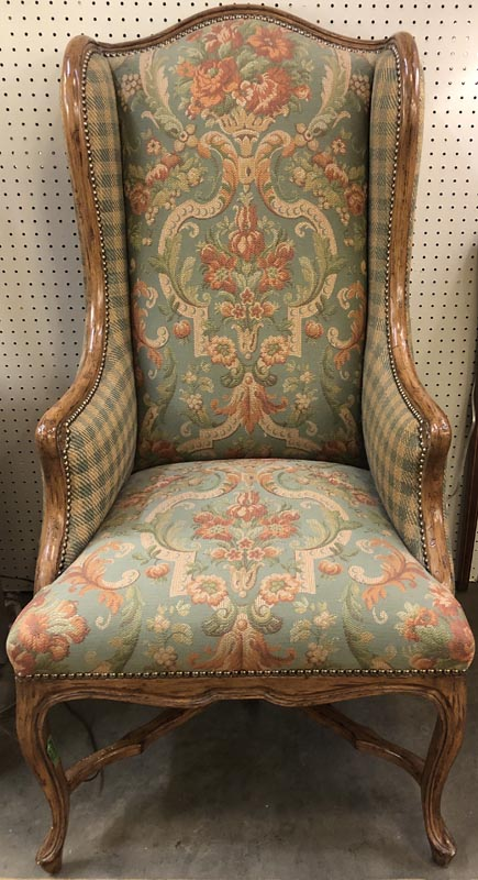 Anna's Mostly Mahogany Consignment - Pair Wing Chairs