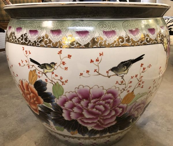 Anna's Mostly Mahogany Consignment - Asian Planter