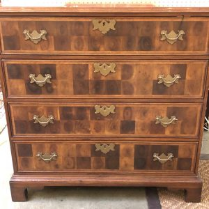 Anna's Mostly Mahogany Consignment - Oysterwood Chest of Drawers