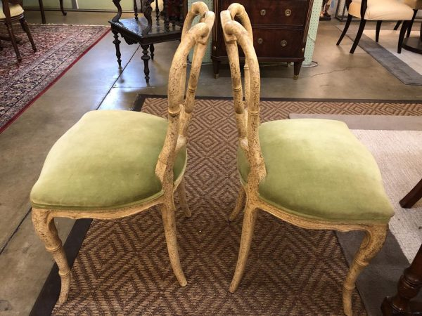 Anna's Mostly Mahogany Consignment - Pr Side Chairs