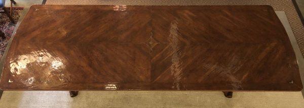 Anna's Mostly Mahogany Consignment - Walnut Dining Table