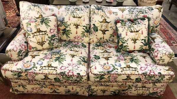 Anna's Mostly Mahogany Consignment - Scalamandre Sofa