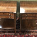 Anna's Mostly Mahogany Consignment - Pair Kittenger End Tables