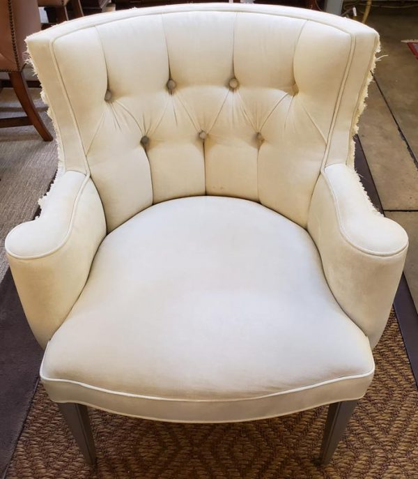 Anna's Mostly Mahogany Consignment - Cream Chair
