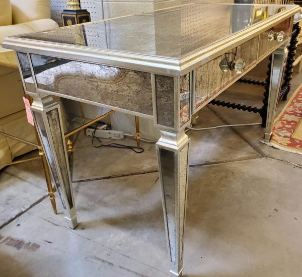 Anna's Mostly Mahogany Consignment - Mirrored Desk
