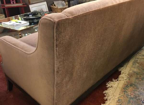 Anna's Mostly Mahogany Consignment - Brown Loveseat