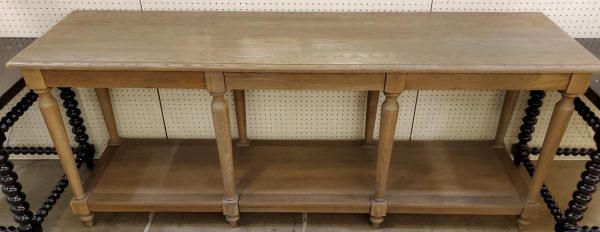 Anna's Mostly Mahogany Consignment - Pine Console Table
