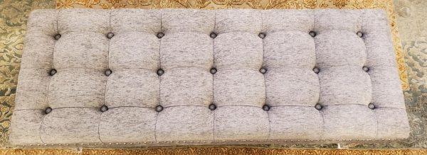 Anna's Mostly Mahogany Consignment - Gray Bench