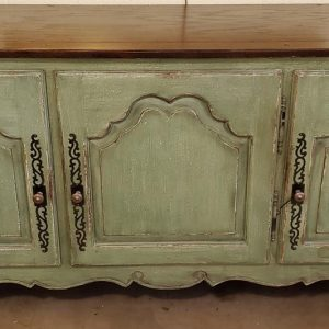 Anna's Mostly Mahogany Consignment - Green Buffet