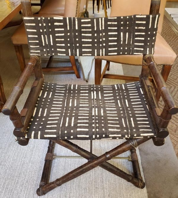 Anna's Mostly Mahogany Consignment - Directors Chair