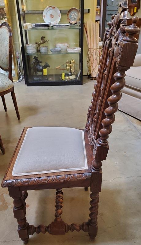 Anna's Mostly Mahogany Consignment - 6 English Tudor Chairs