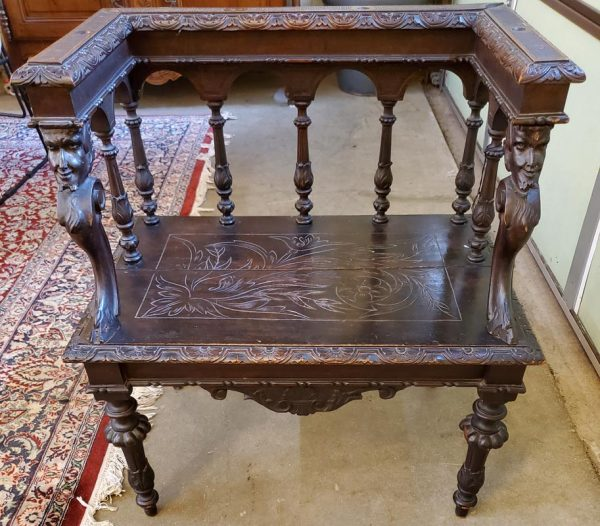 Anna's Mostly Mahogany Consignment - Italian Carved Chair