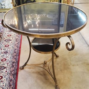 Anna's Mostly Mahogany Consignment - Round Granite Table