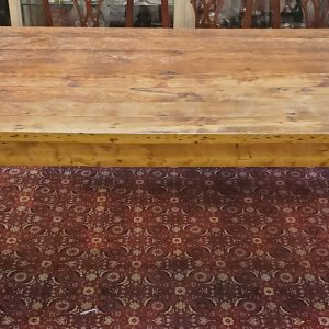 Anna's Mostly Mahogany Consignment - Pine Harvest Table