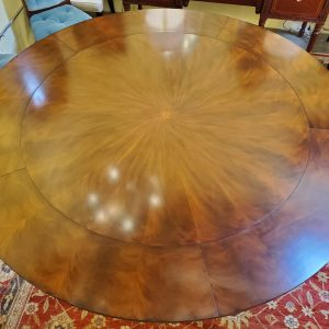 Anna's Mostly Mahogany Consignment - Round Mahogany Dining Table