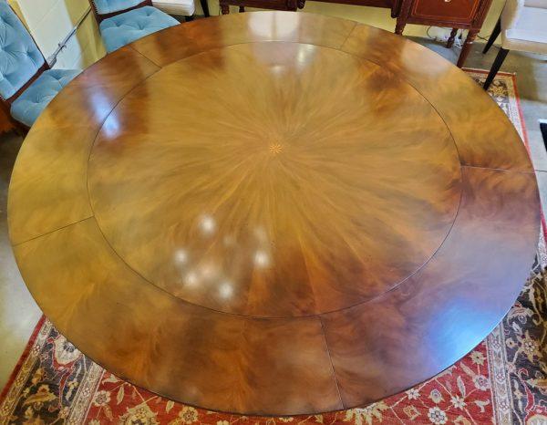 Anna's Mostly Mahogany Consignment - Round Mahogany Dining Table