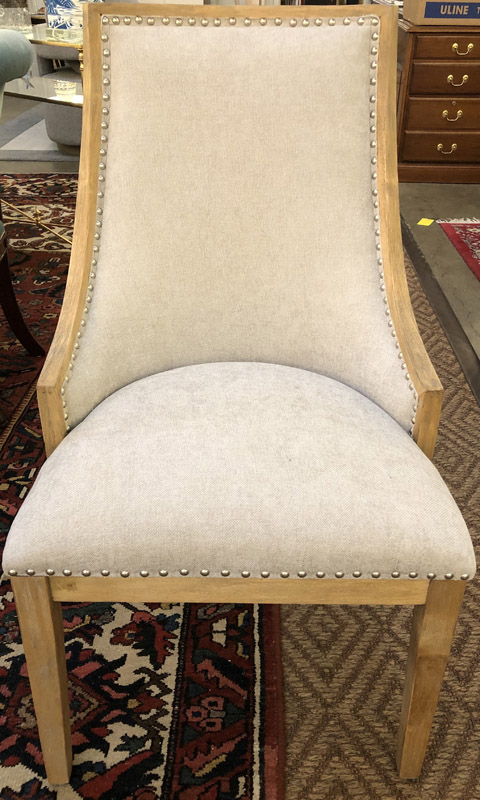 Anna's Mostly Mahogany Consignment - 8 Regency Dining Chairs
