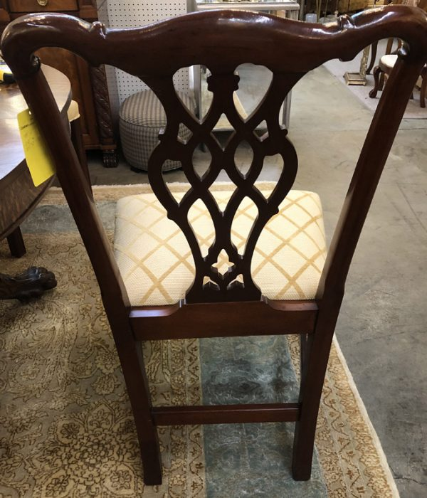 Anna's Mostly Mahogany Consignment - 6 Chippendale Dining Chairs