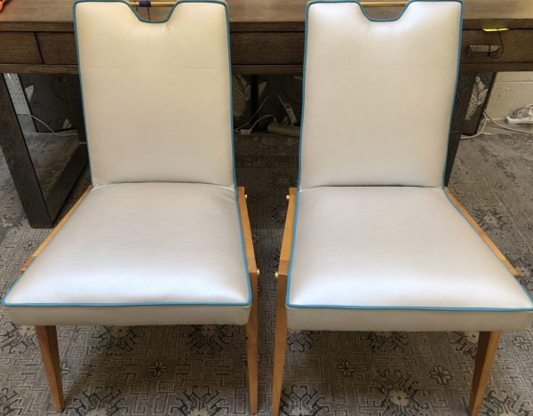 Anna's Mostly Mahogany Consignment - Pr Danish Accent Chairs
