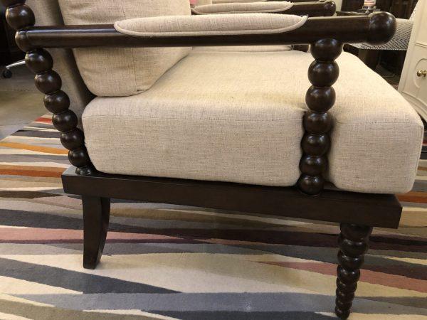 Anna's Mostly Mahogany Consignment - Pr Bobbin Chairs