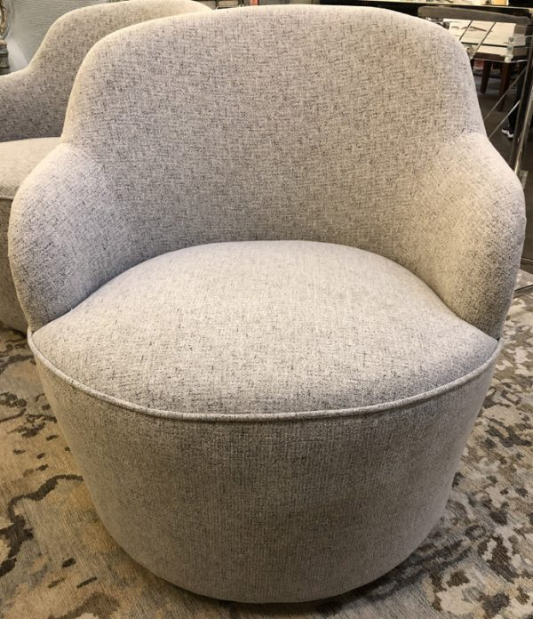 Anna's Mostly Mahogany Consignment - Pr Swivel Chairs