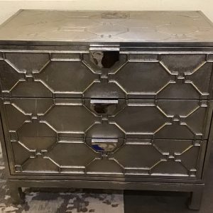 Anna's Mostly Mahogany Consignment - Silver Chest of Drawer.