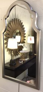 Anna's Mostly Mahogany Consignment - Silver Mirror