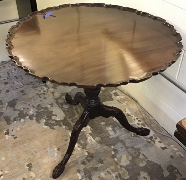Anna's Mostly Mahogany Consignment - Pie Crust Table