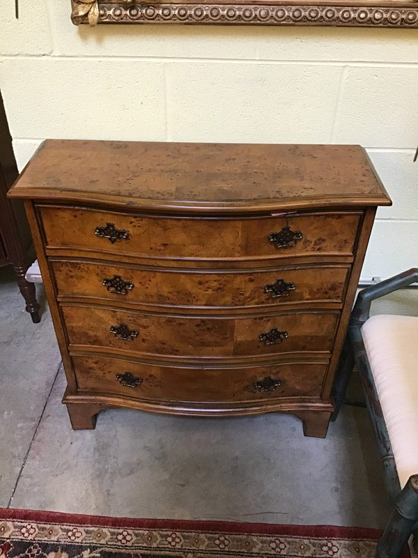 Anna's Mostly Mahogany Consignment - Serpentine Chest