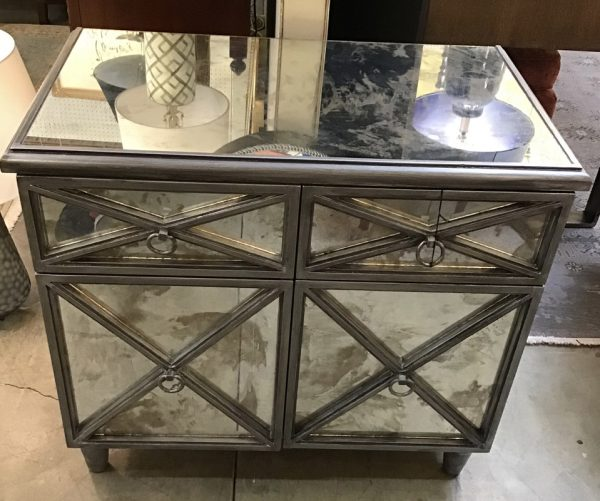 Anna's Mostly Mahogany Consignment - Mirrored Chest