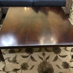 Anna's Mostly Mahogany Consignment - Mahogany Coffee Table