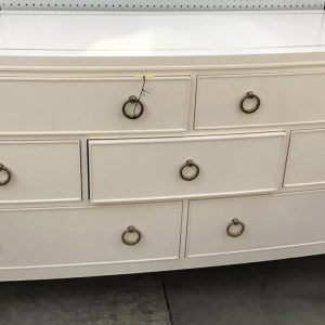 Anna's Mostly Mahogany Consignment - White Dresser