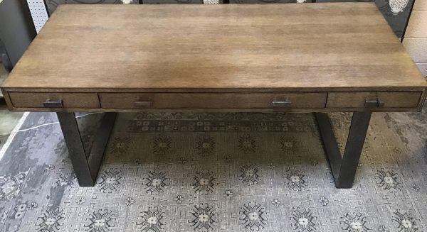 Anna's Mostly Mahogany Consignment - Walnut Modern Desk
