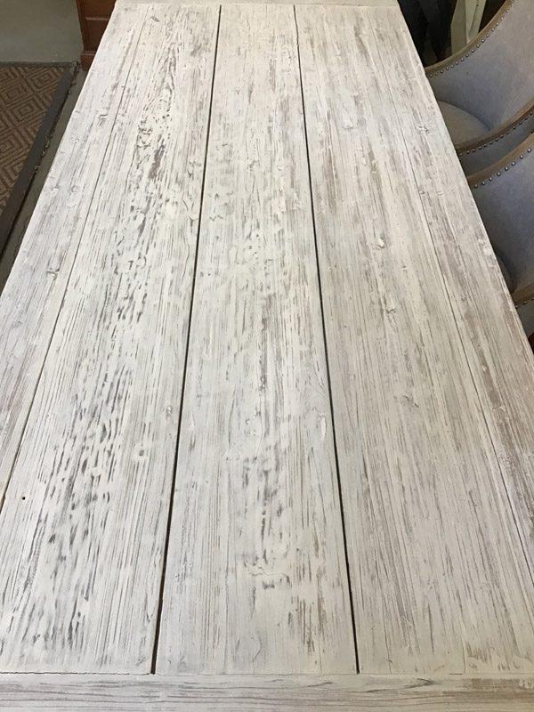 Anna's Mostly Mahogany Consignment - White Farm Table