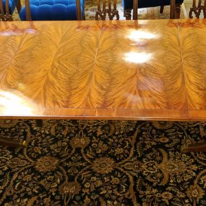 Anna's Mostly Mahogany Consignment - Flame Mahogany Table
