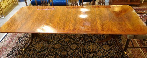 Anna's Mostly Mahogany Consignment - Flame Mahogany Table