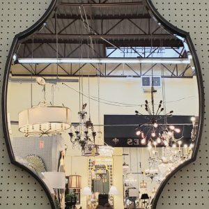 Anna's Mostly Mahogany Consignment - Black Framed Mirror